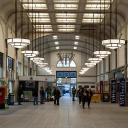 加的夫中央车站
