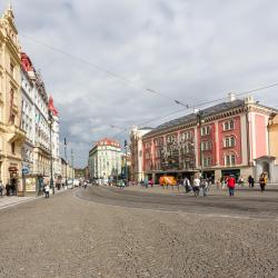 钯金购物中心, 布拉格