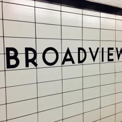 Broadview Subway Station