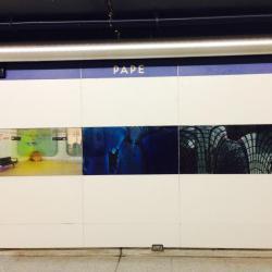 Pape Subway Station