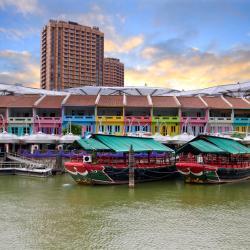 新加坡河滨:克拉码头、罗拔申码头、驳船码头, 新加坡