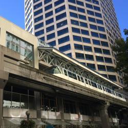 西雅图中心单轨高架列车