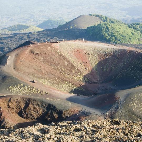 埃特纳火山徒步之旅
