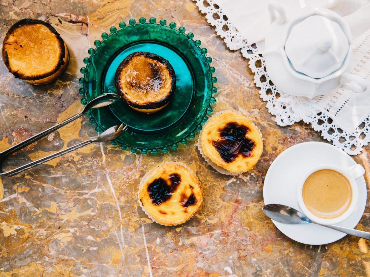 外形精美的葡萄牙奶油蛋挞