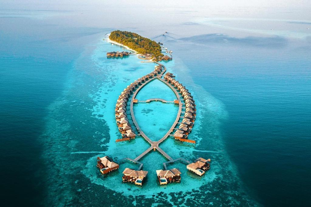 百合海滩度假村 - 全包式鸟瞰图