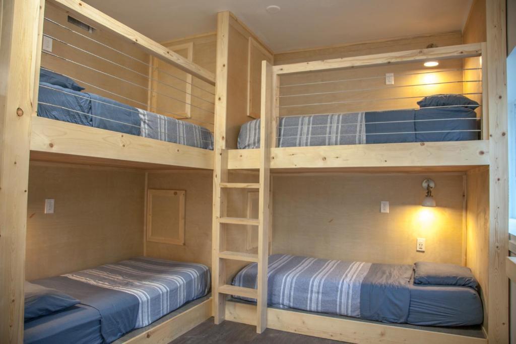 韦斯特伍德共享旅舍客房内的一张或多张双层床