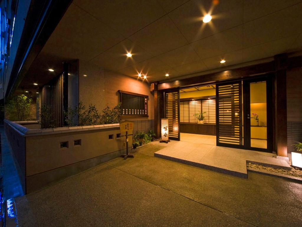 富岳下吕温泉酒店大厅或接待区