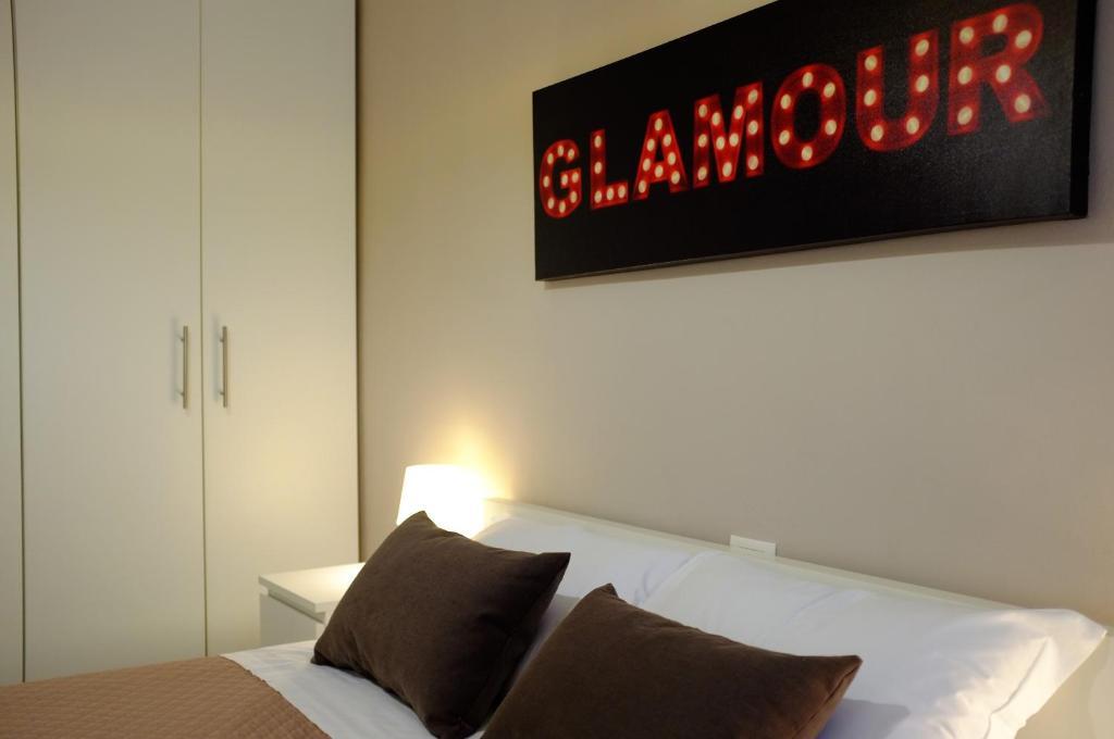 Filarmonico12客房内的一张或多张床位