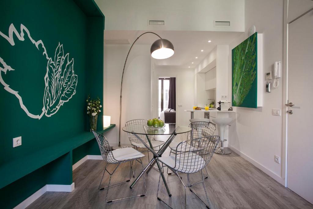 ADN宜居公寓的休息区