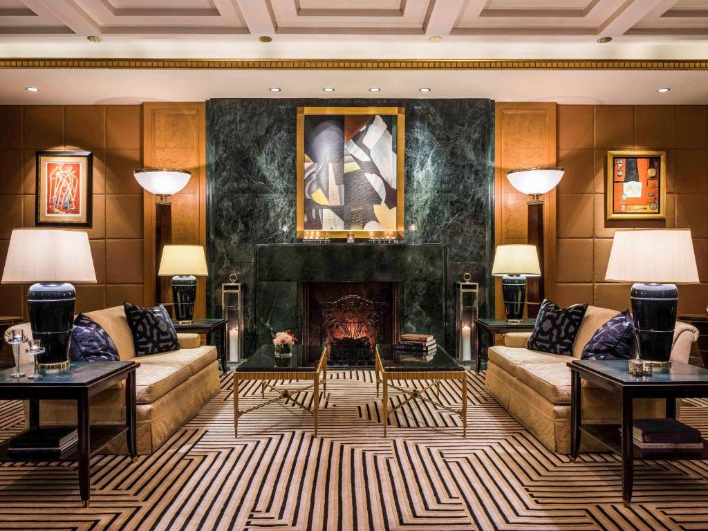 纽约索菲特酒店大厅或接待区