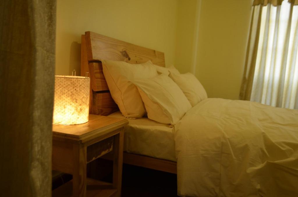 Chaee (Service Apartment)客房内的一张或多张床位