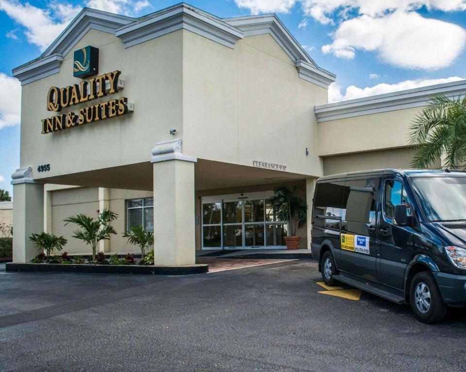 Quality Inn & Suites Near Fairgrounds & Ybor City