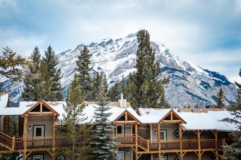 冬天的巴弗洛山旅馆酒店