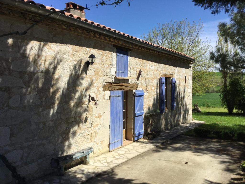 法国 南比利牛斯大区 tarn-et-garonne caumont的酒店 chambre d'