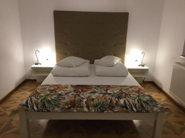 Casa Karola Ház客房内的一张或多张床位