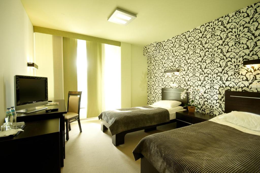霍通酒店客房内的一张或多张床位
