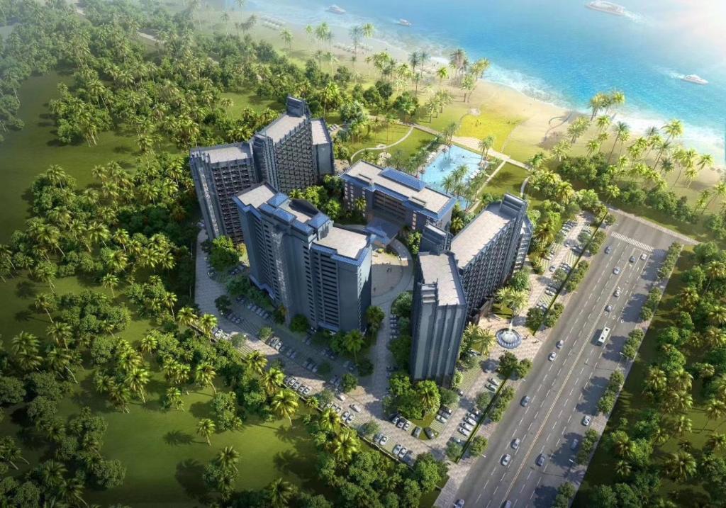 文昌南国温德姆花园酒店鸟瞰图