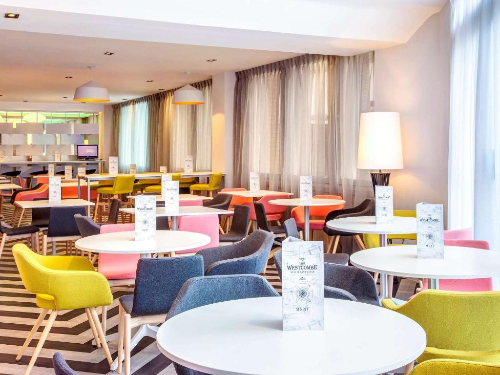 宜必思尚品酒店,伦敦希思罗机场餐厅或其他用餐的地方