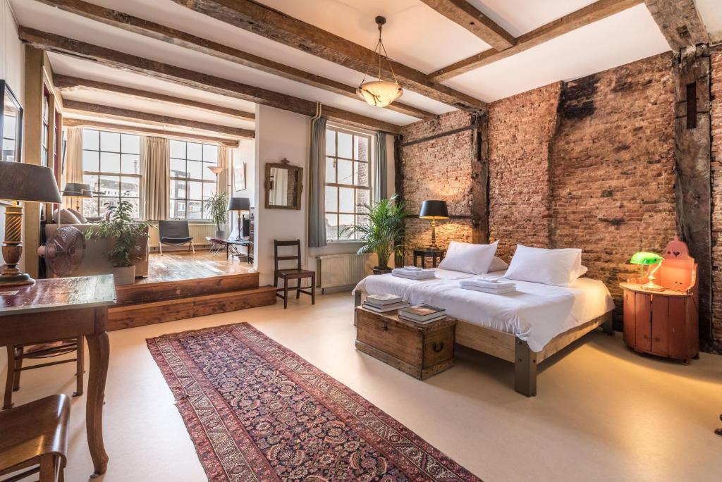 优雅17号C运河屋公寓的休息区