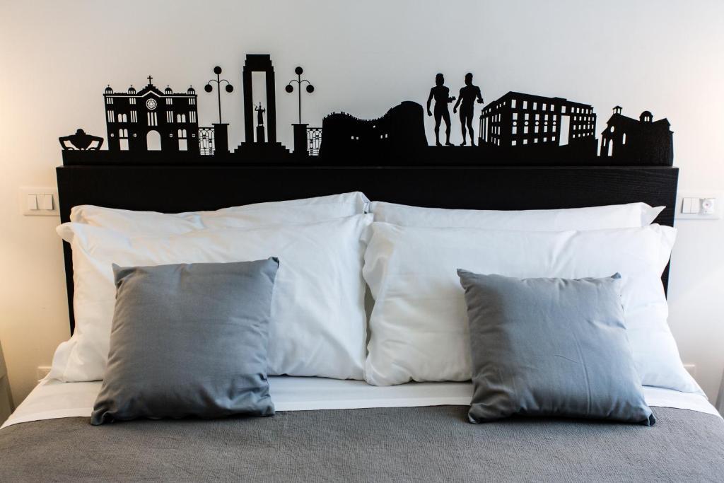 瑞吉翁住宿加早餐旅馆客房内的一张或多张床位
