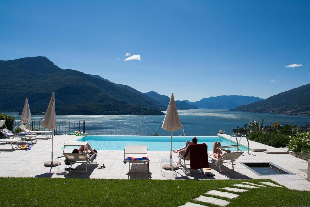Residence CaFelicita内部或周边的泳池
