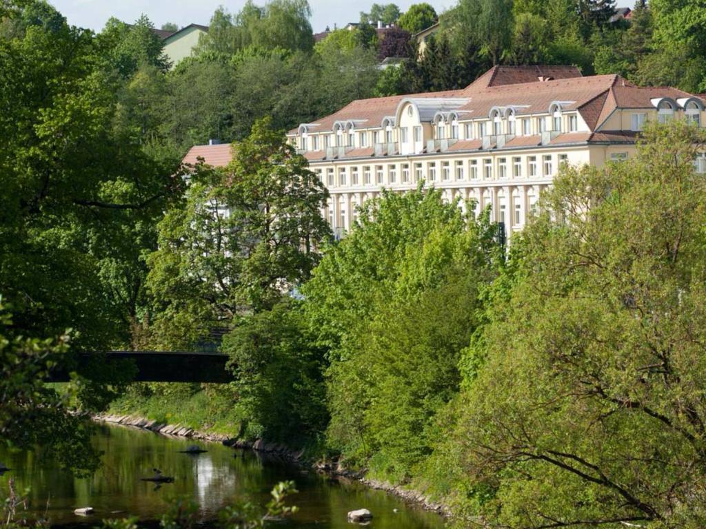 多瑙艾辛根温德姆花园酒店鸟瞰图