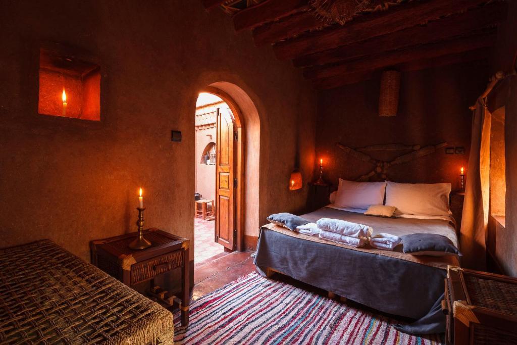 卡斯巴特比酒店客房内的一张或多张床位