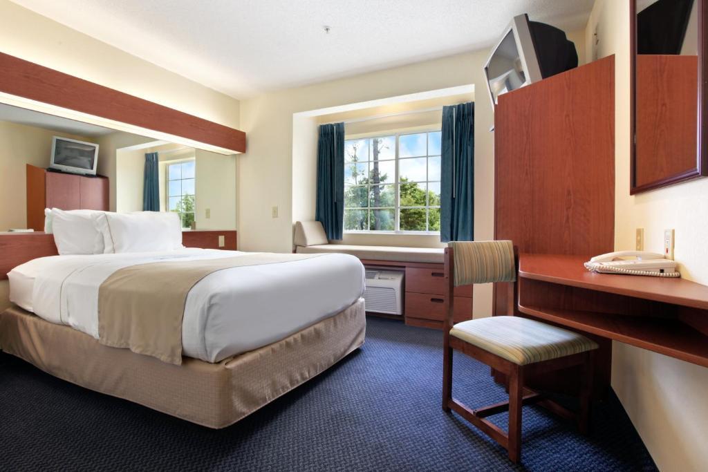 林孔套房酒店 客房内的一张或多张床位