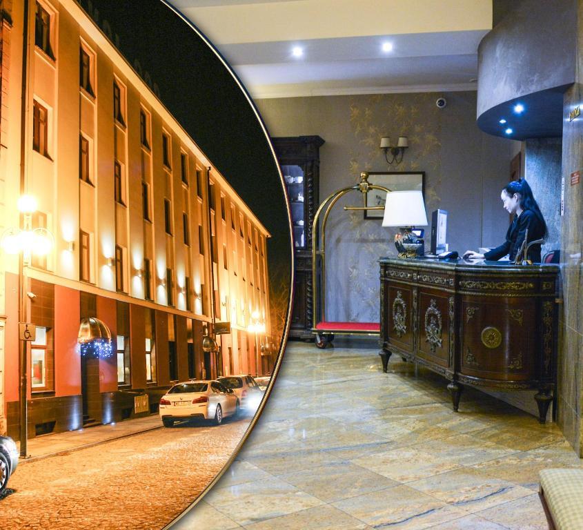 科莫达俱乐部酒店大厅或接待区