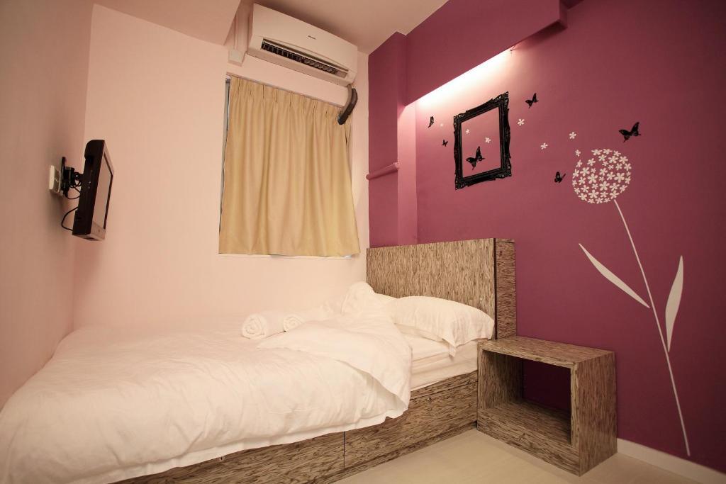 悠悠客舍客房内的一张或多张床位