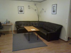 马伦特公寓的休息区