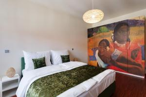恩派伦河畔公寓客房内的一张或多张床位