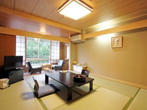 汤本观光饭店西京的休息区