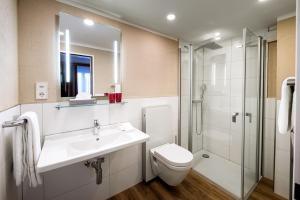 B-Inn Apartments Zermatt的一间浴室