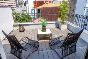 尹思图佛莫萨178公寓的阳台或露台