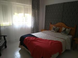 Isla Canela Natura客房内的一张或多张床位