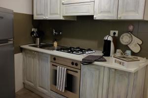 Filarmonico12的厨房或小厨房