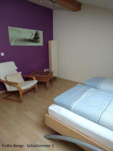 Haus Ellerbeck客房内的一张或多张床位