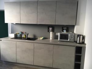Ferienwohnung Pfeifer的厨房或小厨房