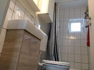 克瑞斯雷克林豪森赫腾公寓的一间浴室
