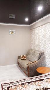 Квартира в центре Пятигорска客房内的一张或多张床位