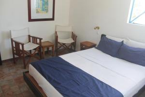 米克公寓客房内的一张或多张床位