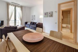 Habitat Apartments Alibei的休息区