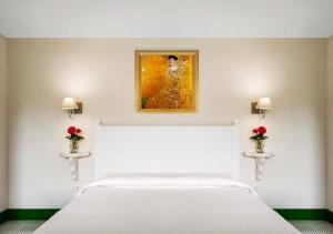 La Dimora客房内的一张或多张床位