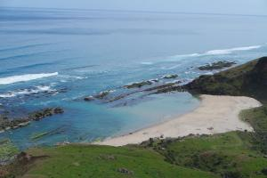 Te Hapu Coastal Cottages鸟瞰图