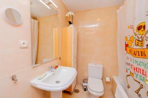Apartamento Deluxe La Vega的一间浴室