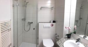 Fewo Mittelmole的一间浴室