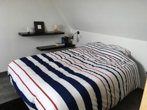 Votre location aux pieds des Vosges客房内的一张或多张床位