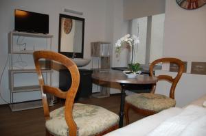萨克沙夫豪森酒店的休息区