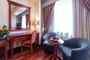 Hotel Epinal的休息区